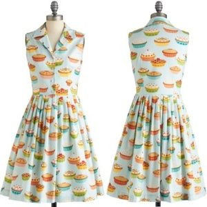 Bea and Dot Modcloth Pie Dress 3X Plus Size